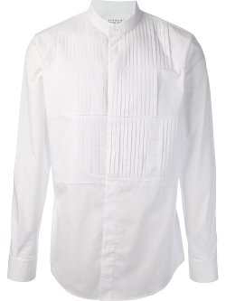 Pleated Yoke Shirt by Maison Martin Margiela in Sherlock Holmes: A Game of Shadows