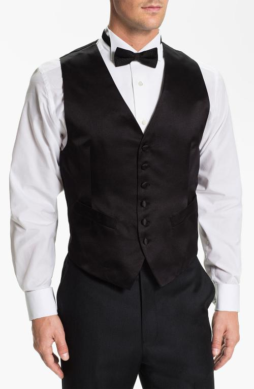 Silk Vest by David Donahue in New Year's Eve