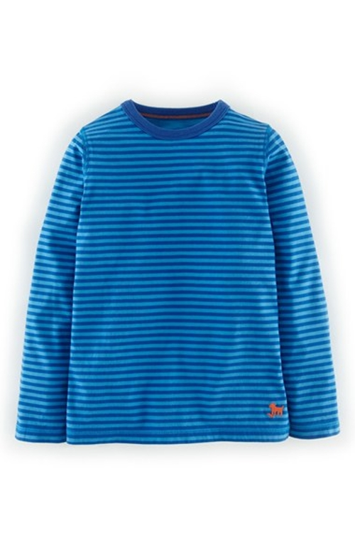 Stripe T-Shirt by Mini Boden in Poltergeist