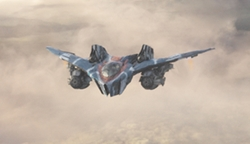 Guardians of The Galaxy Warbird Rocket's M-Ship by Charlie Wen (Concept Artist) in Guardians of the Galaxy Vol. 2