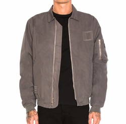 Embroidered Flight Jacket by John Elliott in Animal Kingdom