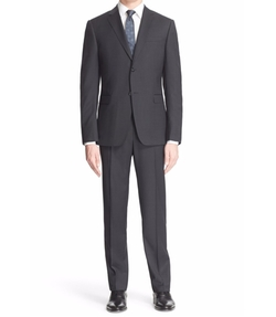 Trim Fit Stripe Wool Suit by Z Zegna in Fantastic Beasts and Where to Find Them