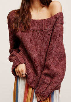Beachy Slouch Sweater by Free People in The Bachelor