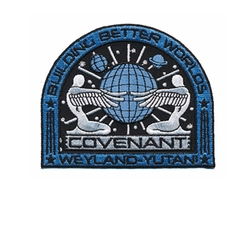 Covenant Weyland Corp Crew Patch by Patch Squad in Alien: Covenant