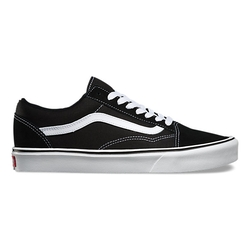 Suede Canvas Old Skool Lite Sneakers by Vans in Modern Family