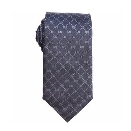 Logo Printed Silk Tie by Gucci in Suits - Season 6 Episode 3