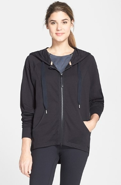 'Heart & Soul' Zip Hoodie by Zella in Barely Lethal