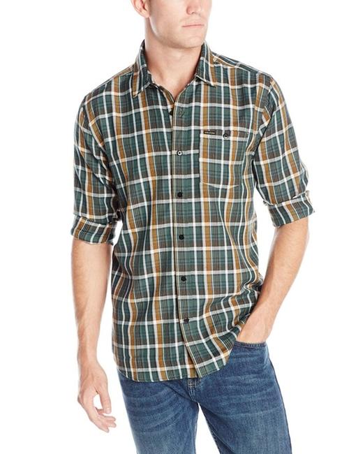 Men's Bartlett Long Sleeve Shirt by Volcom in New Girl - Season 5 Episode 14