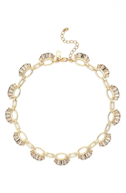 Clink Of Ice Collar Necklace by Kate Spade New York  in Pretty Little Liars