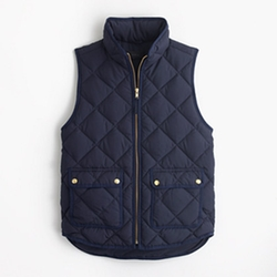 Excursion Quilted Down Vest by J.Crew in Modern Family