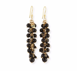 Grappolo Beaded Dangle Drop Earrings by Rosantica in The Hitman's Bodyguard