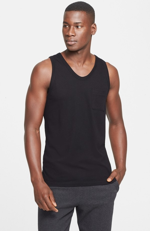 Trim Fit Tank Top by T by Alexander Wang in Magic Mike XXL