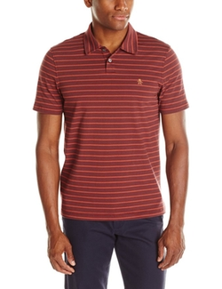 Men's Feeder-Stripe Polo Shirt by Original Penguin in Neighbors 2: Sorority Rising