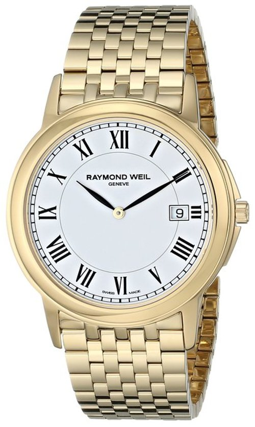 Gold-Tone Stainless Steel Watch by Raymond Weil in Begin Again