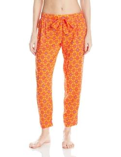Women's Cropped Pajama Pants by Kensie in Unbreakable Kimmy Schmidt