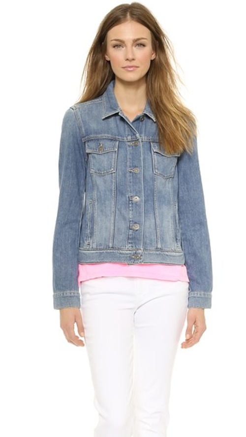 Rowan Denim Jacket by Paige Denim in Dope