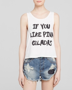 Pina Coladas Tank Top by MinkPink in Pretty Little Liars