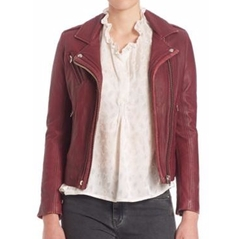 Han Leather Moto Jacket by Iro in How To Get Away With Murder