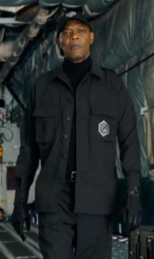 Custom Made Prescott Military Jacket (Hardman) by Francine Jamison-Tanchuck (Costume Designer) in Barely Lethal