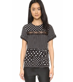 Polka Dot Top by Marc by Marc Jacobs in Imaginary Mary