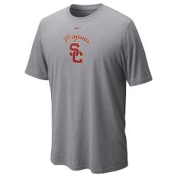 USC Trojans Logo Legend Tee - Men by Nike in Million Dollar Arm