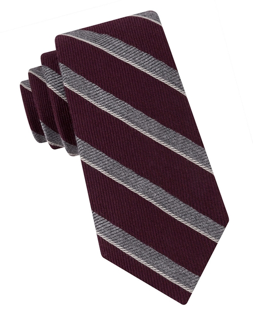 Textured Stripe Tie by Black Brown 1826  in Modern Family - Season 7 Episode 16