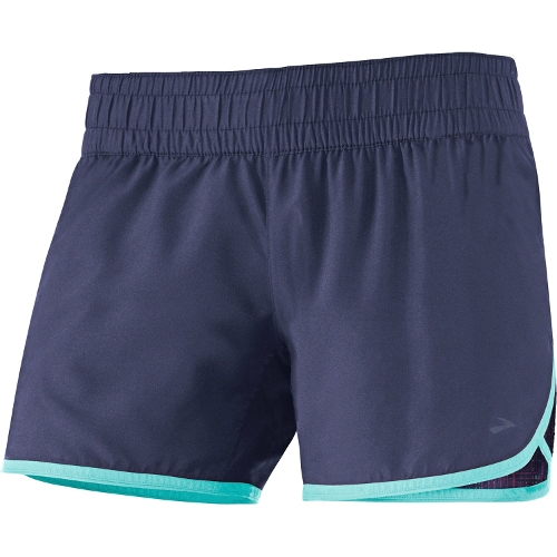 D'lite Low Rise Shorts by Brooks in Barely Lethal