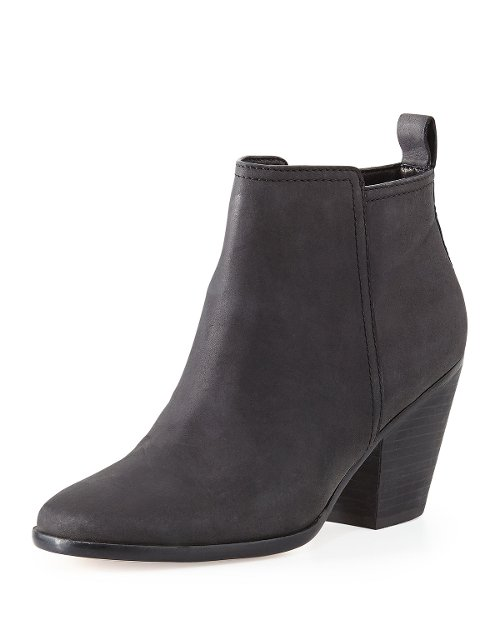 Chesney Leather Ankle Booties by Cole Haan in That Awkward Moment