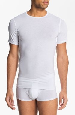 Crewneck Cotton Undershirt by Naked in Hall Pass