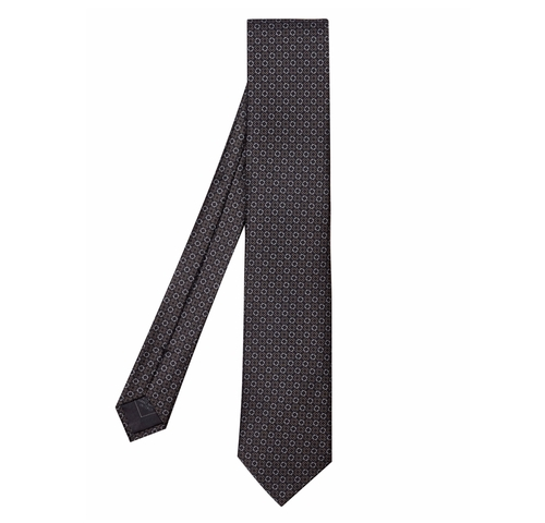 Geometric Chain-Link Silk Tie by Brioni in The Bourne Legacy