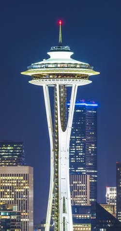 Seattle, Washington by Space Needle in Fifty Shades Darker
