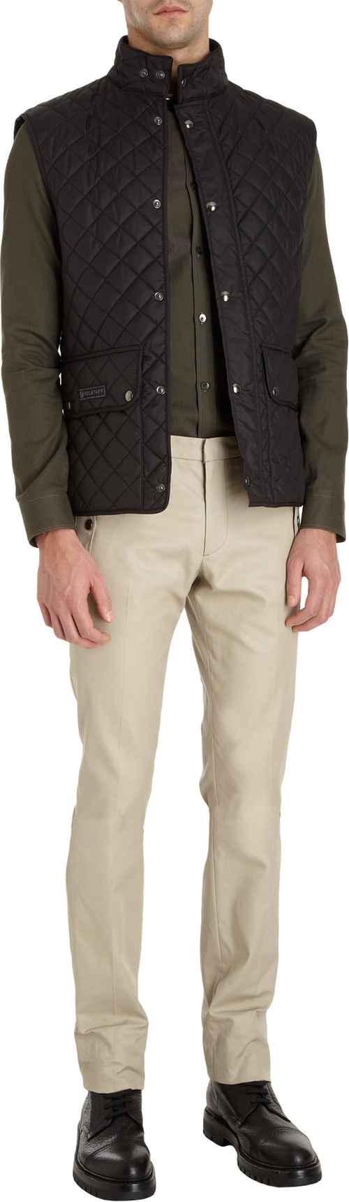 Quilted Vest by Belstaff in American Horror Story - Season 5 Episode 11
