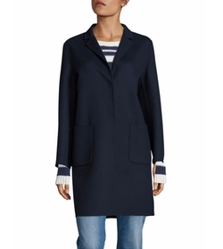 Aldeno Doppio Wool Blend Coat by Weekend Max Mara in Quantico
