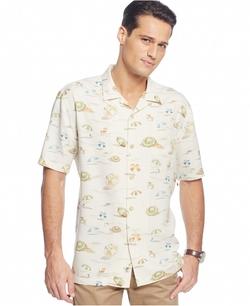 Beach-Print Short-Sleeve Shirt by Tommy Bahama in The Walk