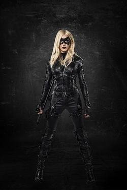 Custom Made 'Black Canary' Costume by Maya Mani (Costume Designer) in Arrow