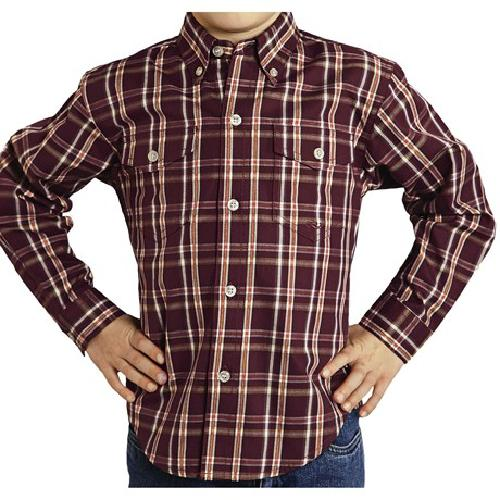Amarillo Cotton Shirt by Roper in Blended