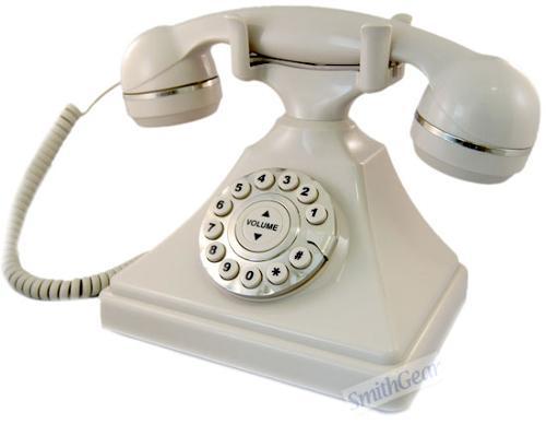 1930 Retro Desk Phone by Smith Gear in Mortdecai
