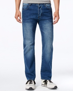 Men's Slim-Fit Stretch Jeans by Armani Jeans in Animal Kingdom