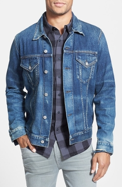 Classic Selvedge Denim Jacket by Citizens of Humanity in Entourage