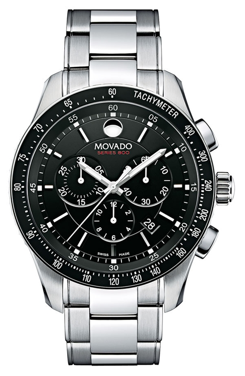 'Series 800' Chronograph Bracelet Watch, 42mm by Movado in Gone Girl