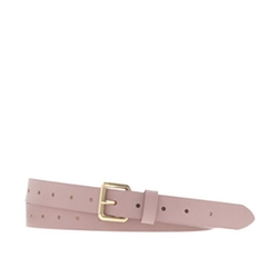 Perforated Leather Belt by J. Crew in Pitch Perfect 2