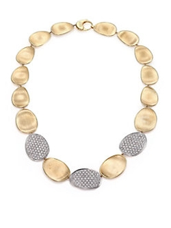 Three-Station Collar Necklace by Marco Bicego in Empire
