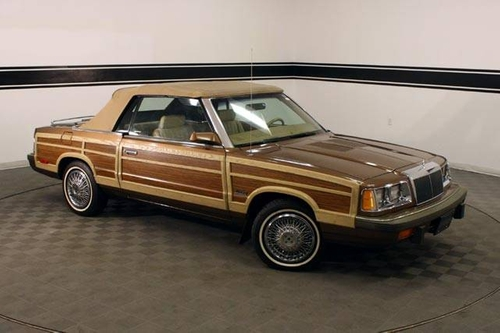 LeBaron Convertible 1986 by Chrysler in St. Vincent