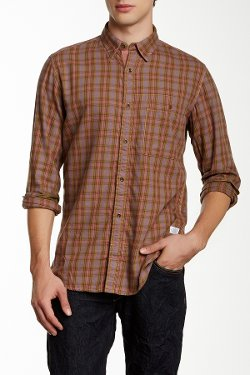 B-52 Check Print Shirt by French Connection in McFarland, USA
