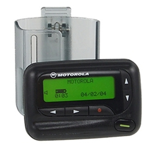 Advisor Pager by Motorola in The Big Lebowski