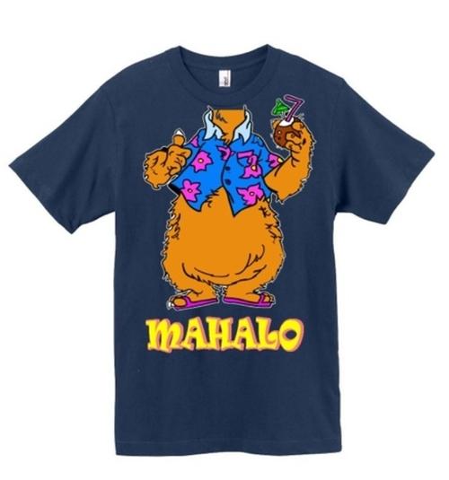 Custom Made Mahalo T-Shirt by Hugo Maldonado (Shirt Designer) in Tammy