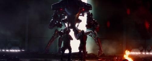 Ground Hunter Killer Unit Robot by Victor James Martinez (Concept Artist) in Terminator: Genisys