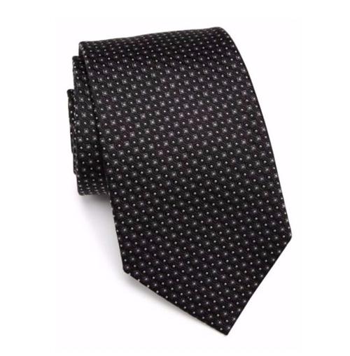 Square Solid Silk Tie by Armani Collezioni in Suits - Season 6 Episode 9