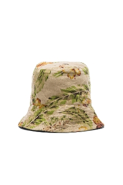 Cotton Linen Floral Print Bucket Hat by Engineered Garments in Me and Earl and the Dying Girl