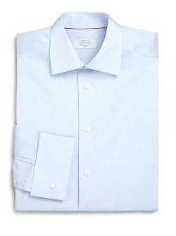 French Cuff Twill Dress Shirt by Eton of Sweden in Get Hard